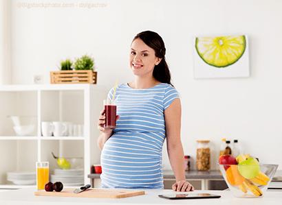 Limonade während der Schwangerschaft